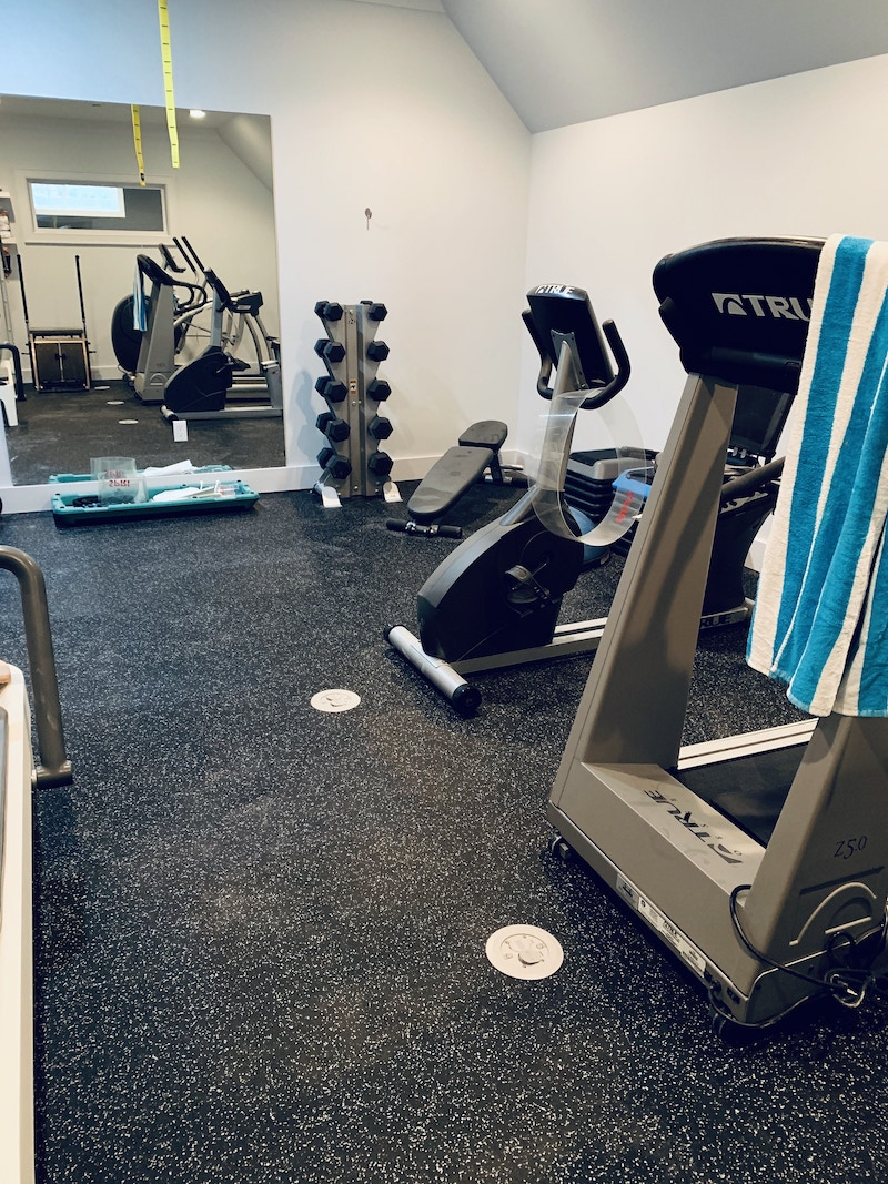 2 Carpetrends Projects Gym Rubber Tiles
