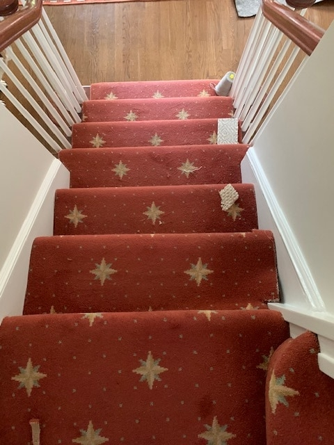 7 Carpetrends Projects Stairs Carpet Replacement