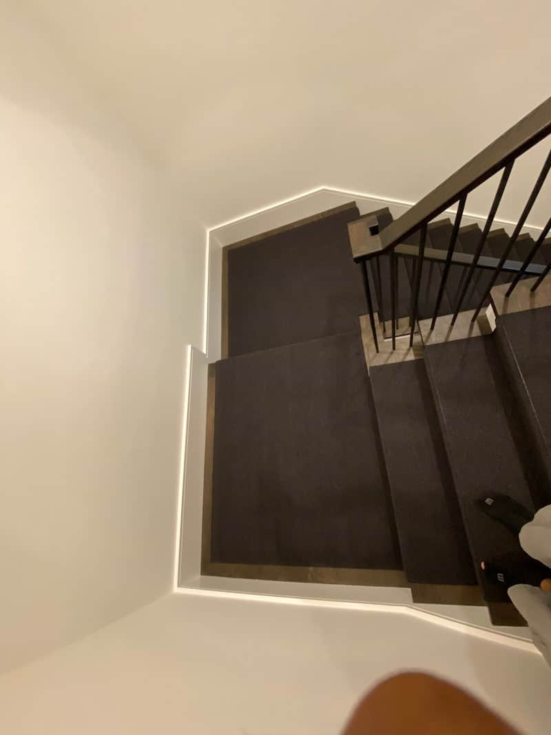 carpetrends stairs project Treford wool7
