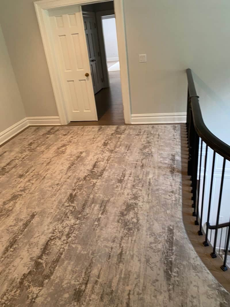 carpetrends stairs project Milliken2