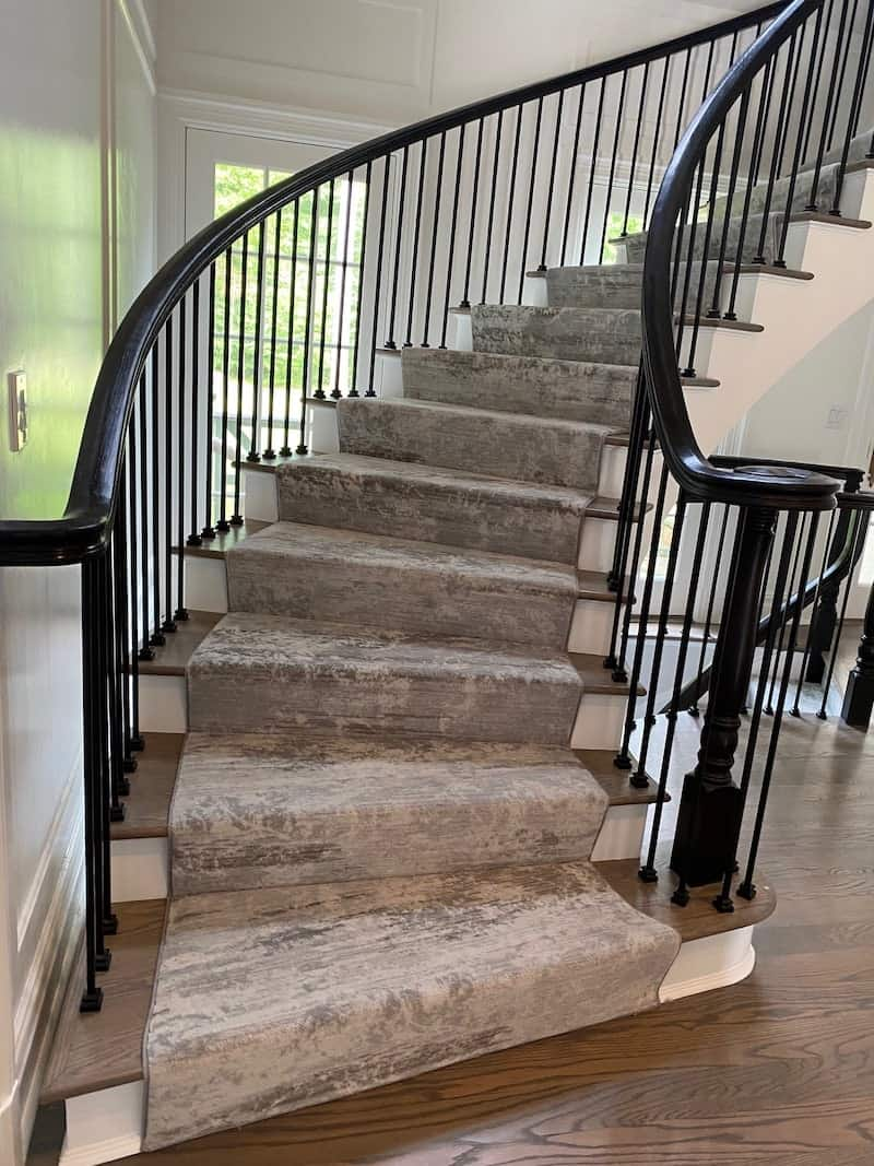 carpetrends stairs project Milliken5