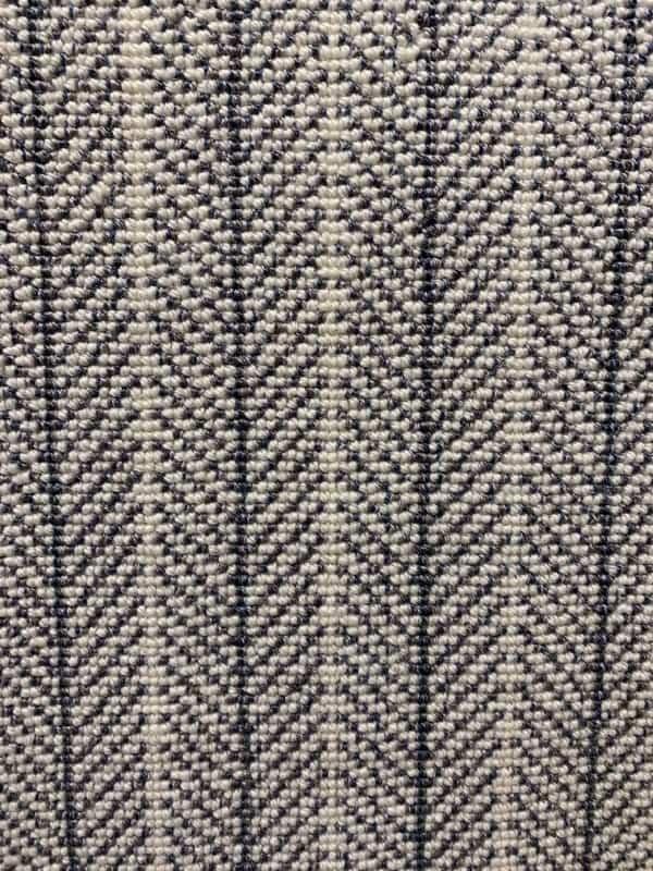 Wilton Herringbone White Feather